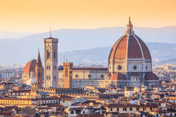 Catedral Santa Maria Del Fiore, Florencia, Italia - foto de stock