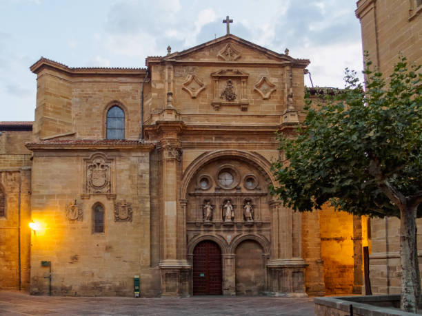 Cathedral - Santo Domingo de la Calzada stock photo
