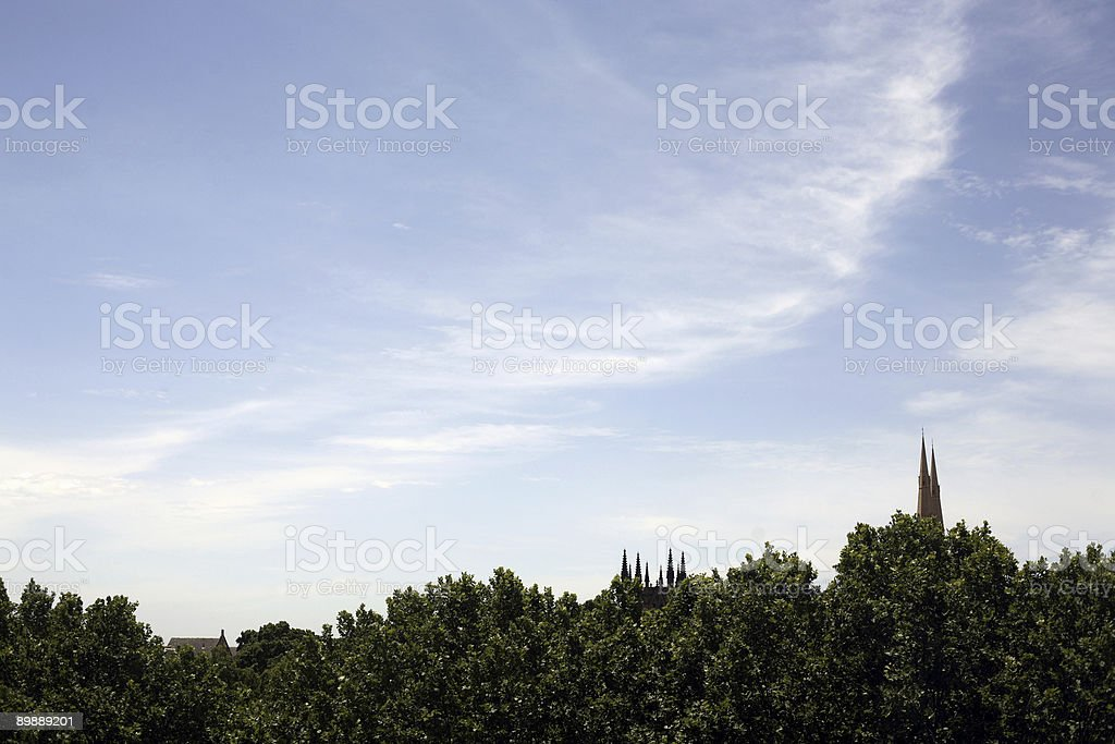 Cathedral Sky royalty-free stock photo