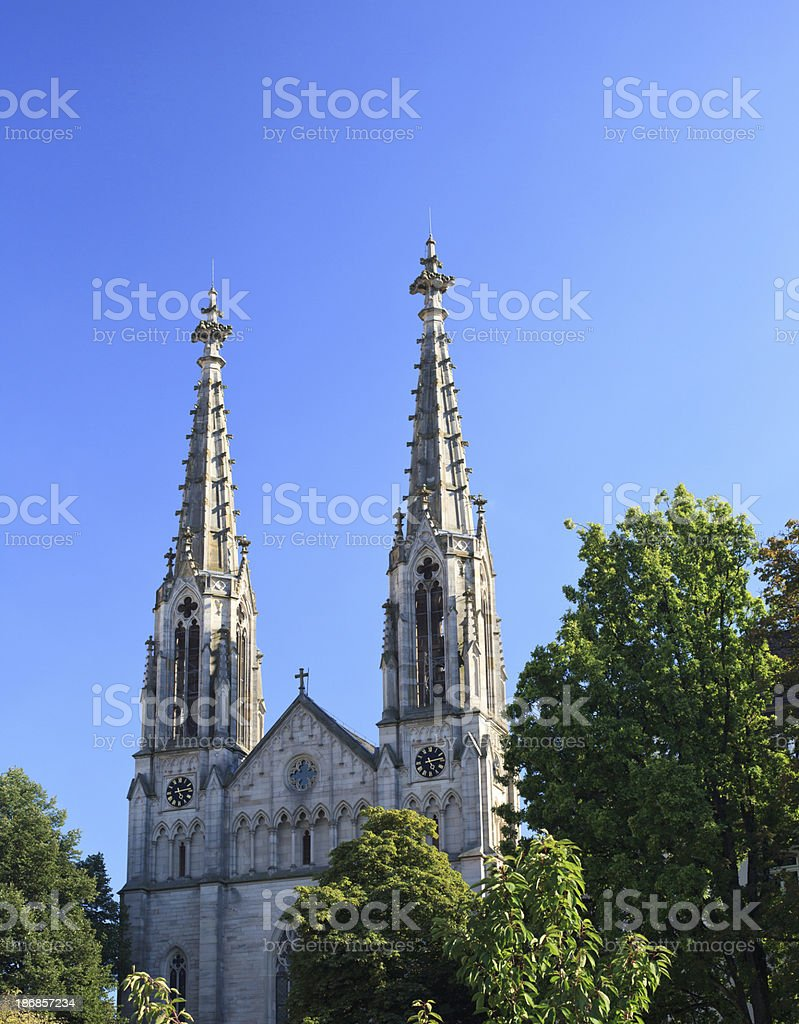 Cathedral Spires royalty-free stock photo