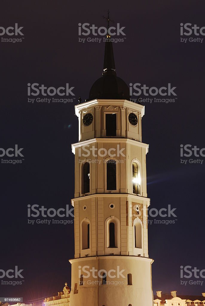 Cathedral square bell tower royalty-free stock photo