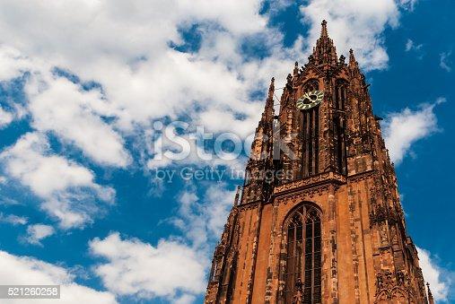 Cathedral St Bartholomaus in Frankfurt / Germany