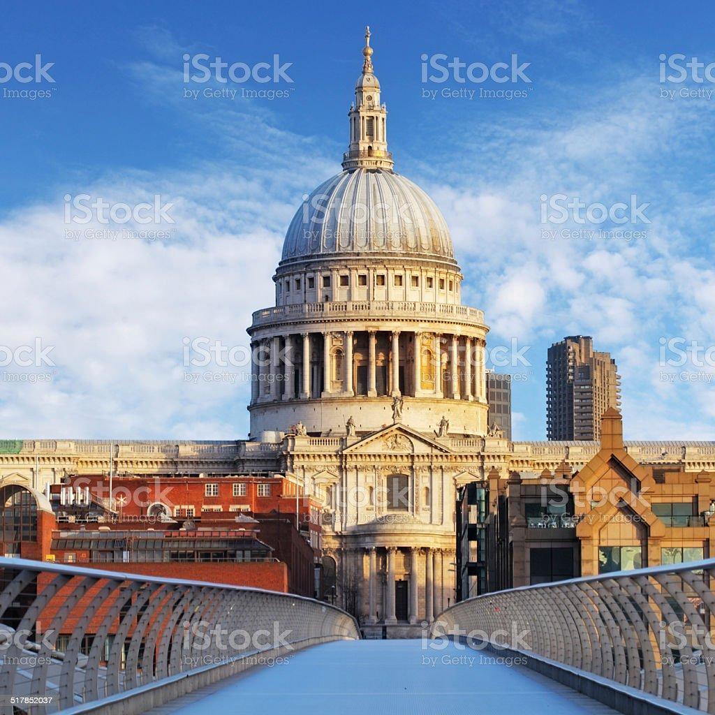 Cathedral St. Paiul - London, UK stock photo