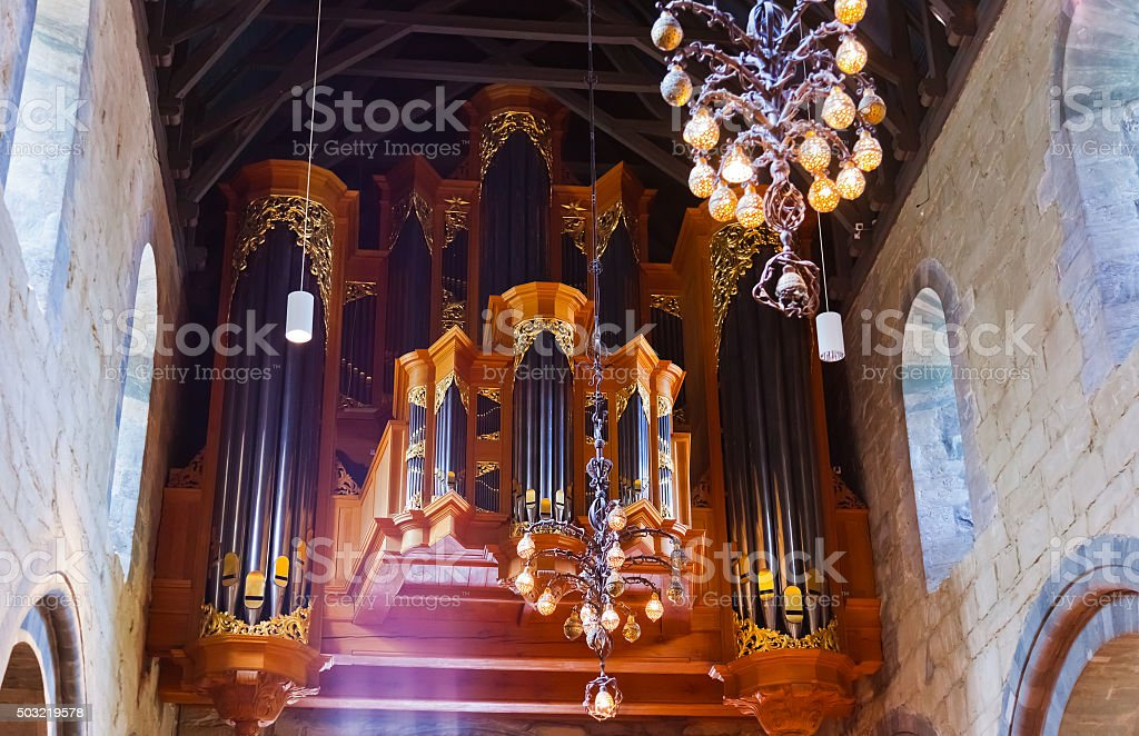 Cathedral - Stavanger Norway stock photo