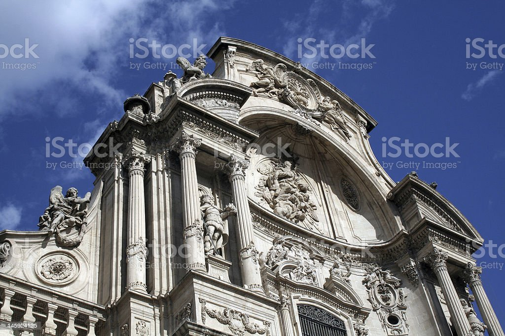 Cathedral Top royalty-free stock photo