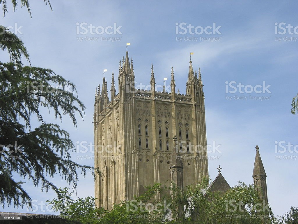 Cathedral Tower royalty-free stock photo