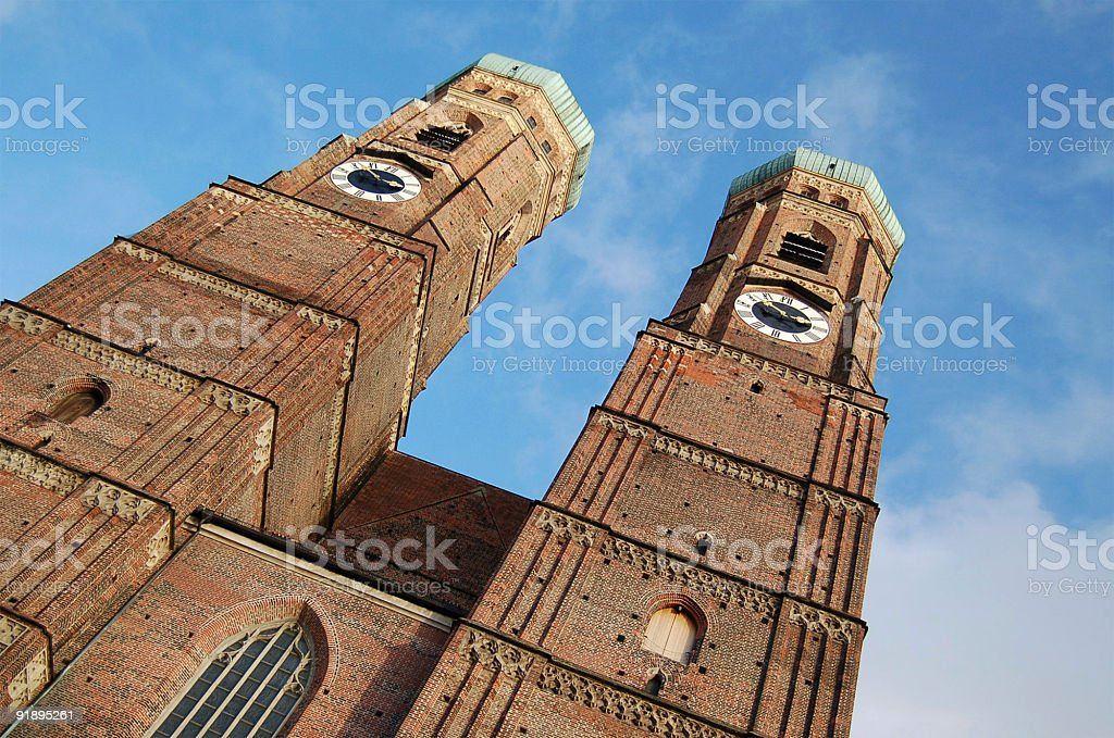 Cathedral Towers royalty-free stock photo