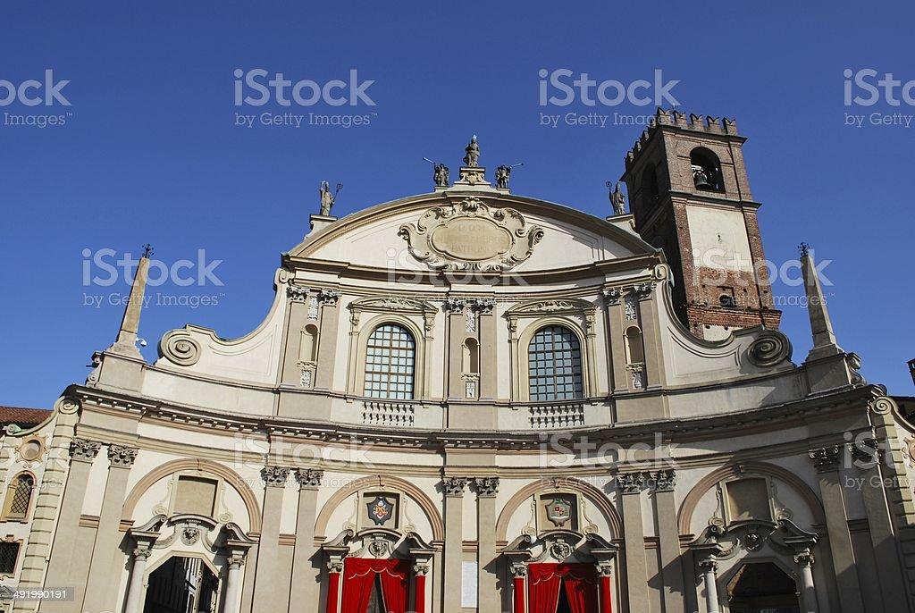 Cathedral, Vigevano stock photo
