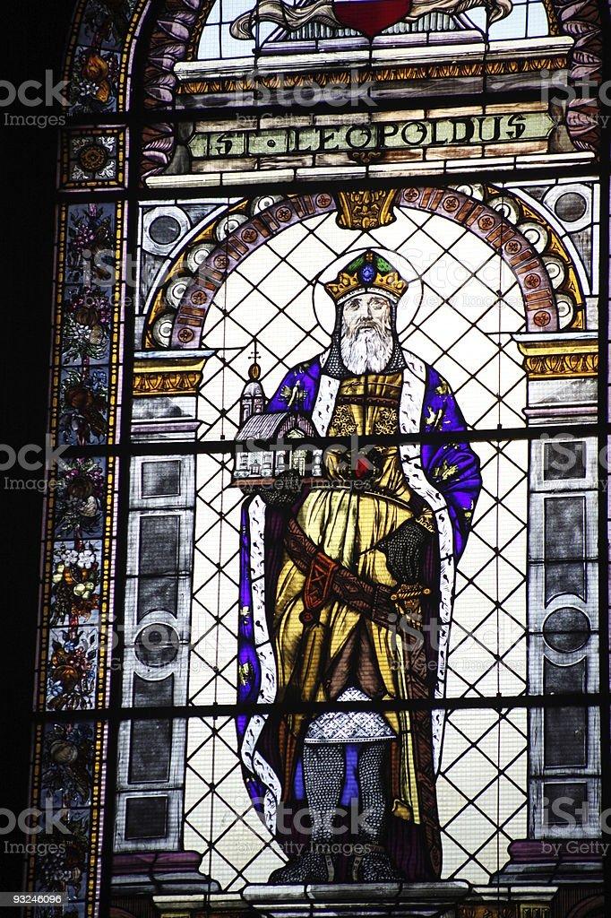 Cathedral Vitrage royalty-free stock photo
