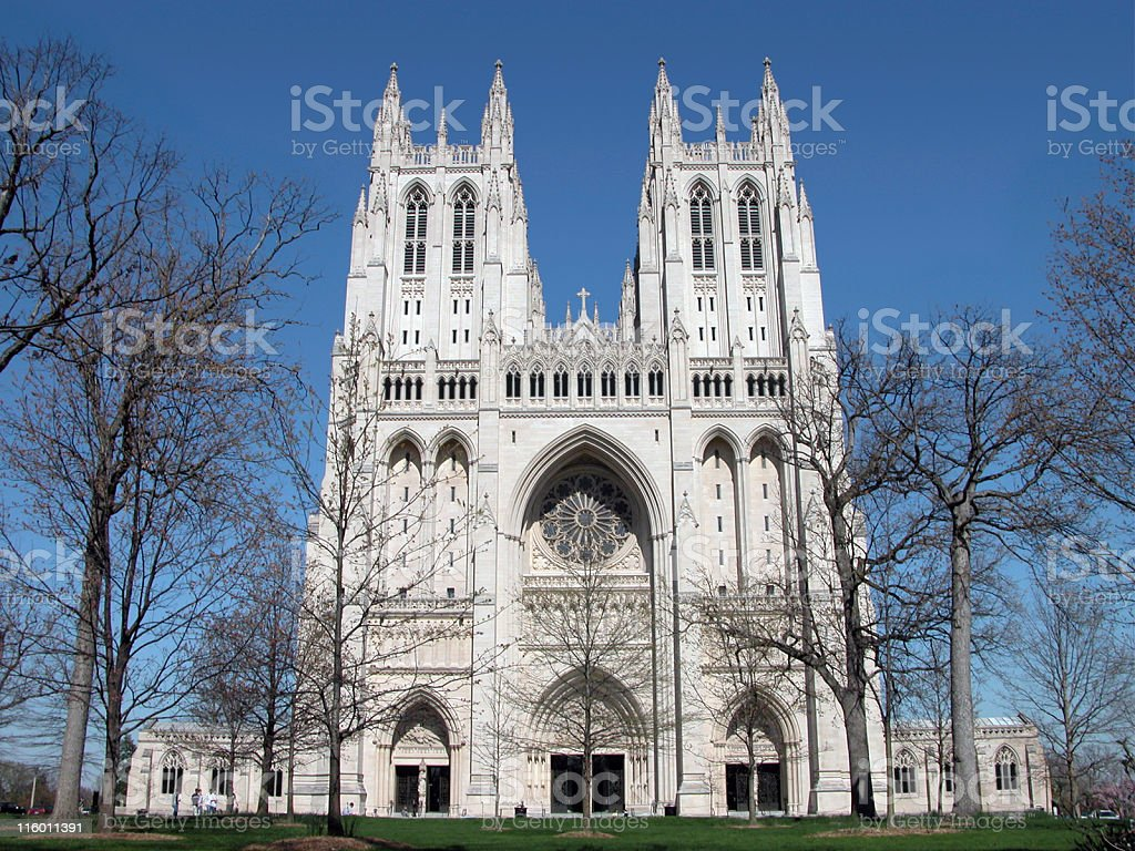 Cathedral - Washington National stock photo