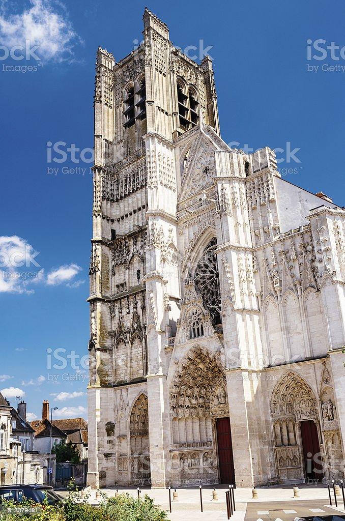 Cathédrale Saint-Etienne, Auxerre, France - Photo