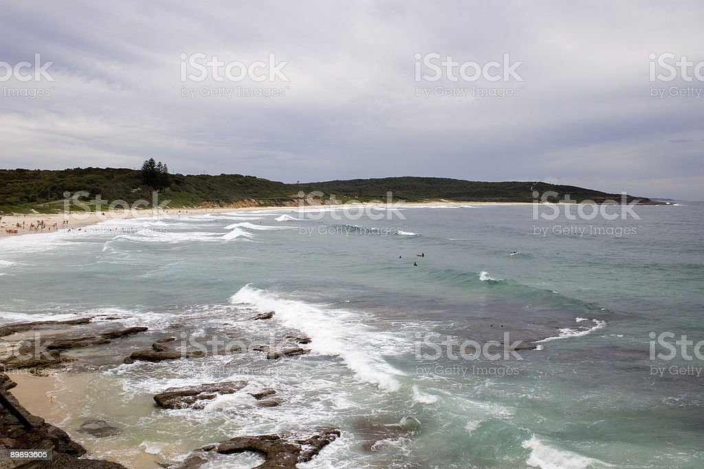 Catherine Hill Bay royalty-free stock photo