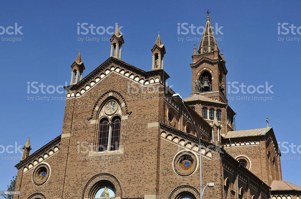 Catholic Cathedral, Asmara, Eritrea stock photo