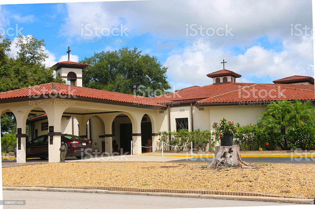 Catholic Church - Central Florida Lizenzfreies stock-foto