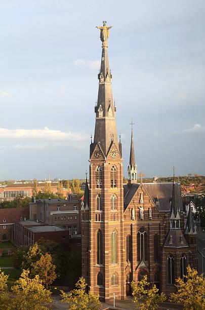 catholic church - eindhoven city stockfoto's en -beelden
