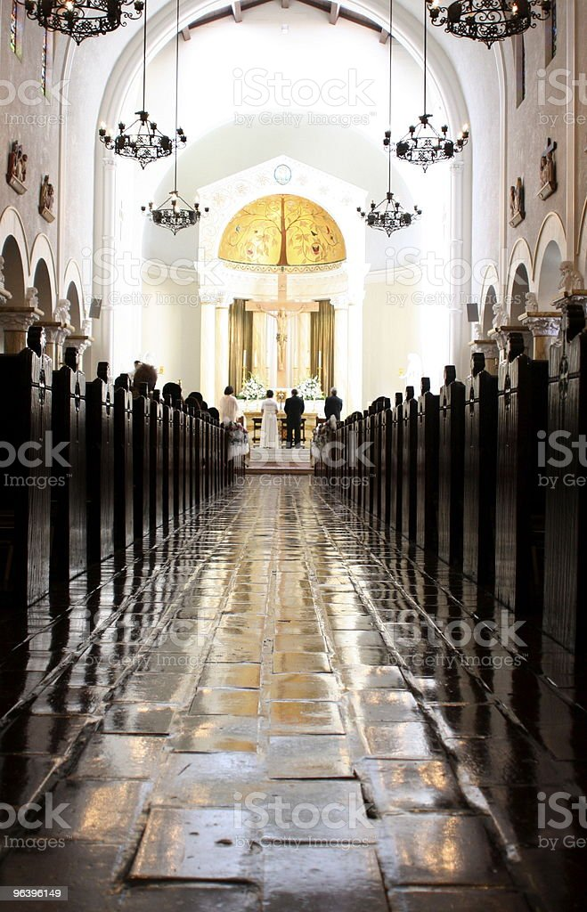 Catholic Church Wedding - Royalty-free Adult Stock Photo