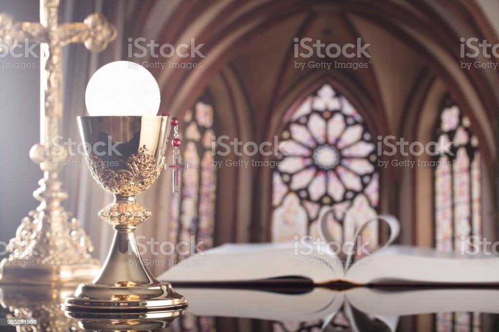 Catholic concept. stock photo