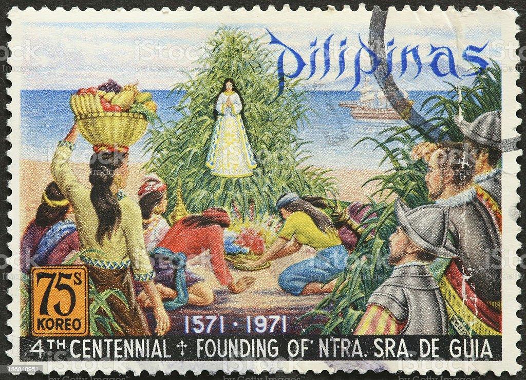 Santuário e santo católico Filipinas - foto de acervo