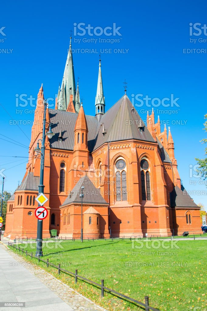 Catolic military church of Saints Catherine. stock photo