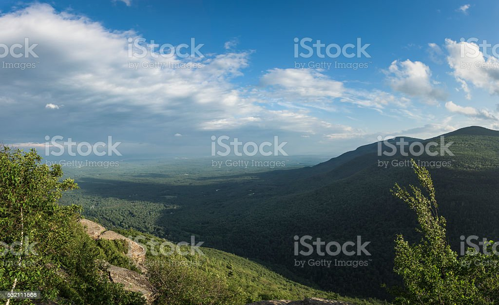 Catskill Mountain View stock photo
