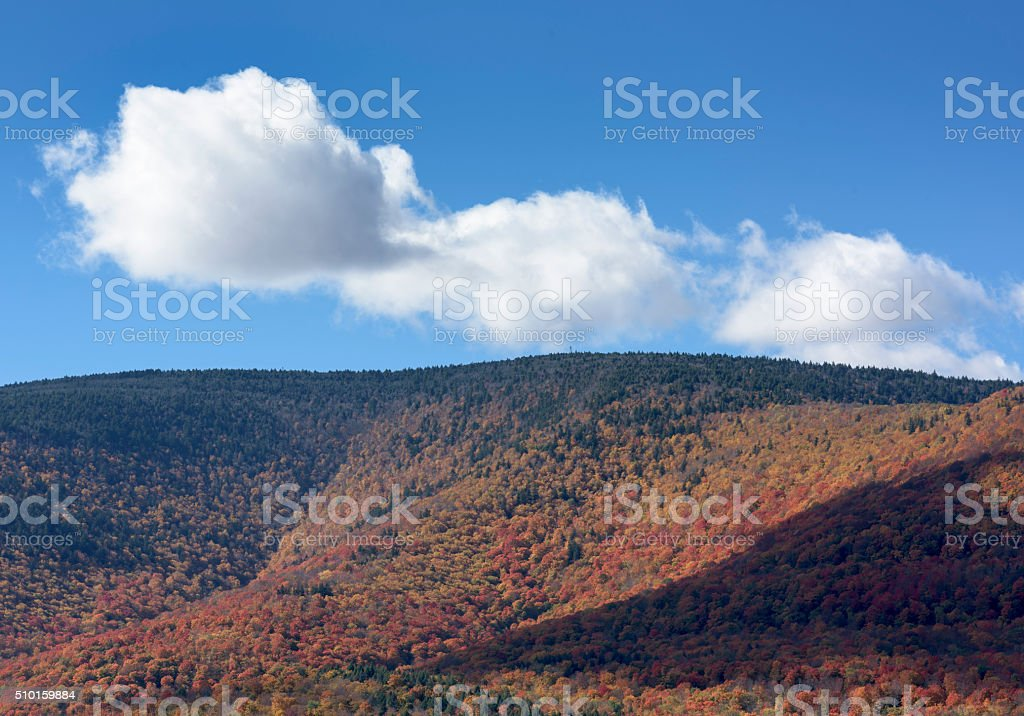Catskill Mountains, Autumn stock photo