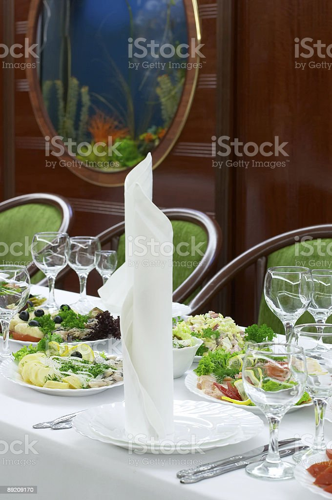 Cattering and banquet royalty-free stock photo