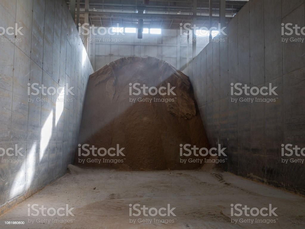 Cattle Feed In Storage Stock Photo & More Pictures of Agriculture