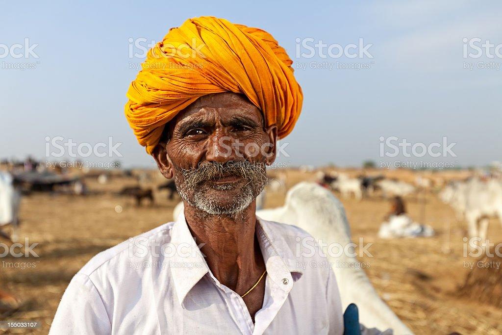 Cattleman stock photo