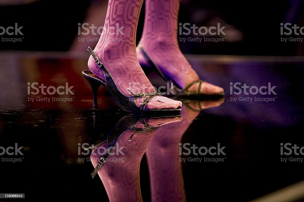 Catwalk royalty-free stock photo