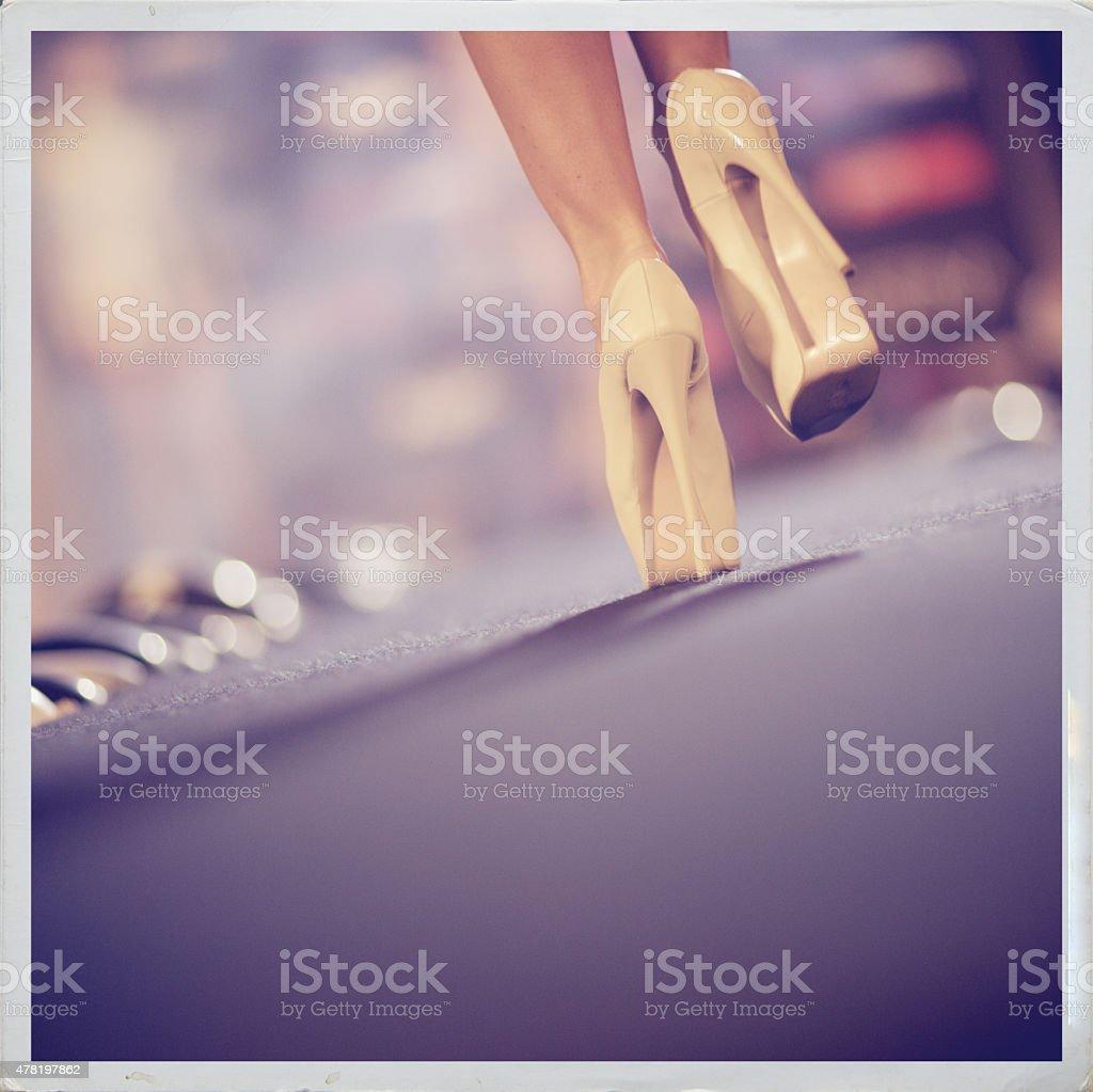 Catwalk stock photo