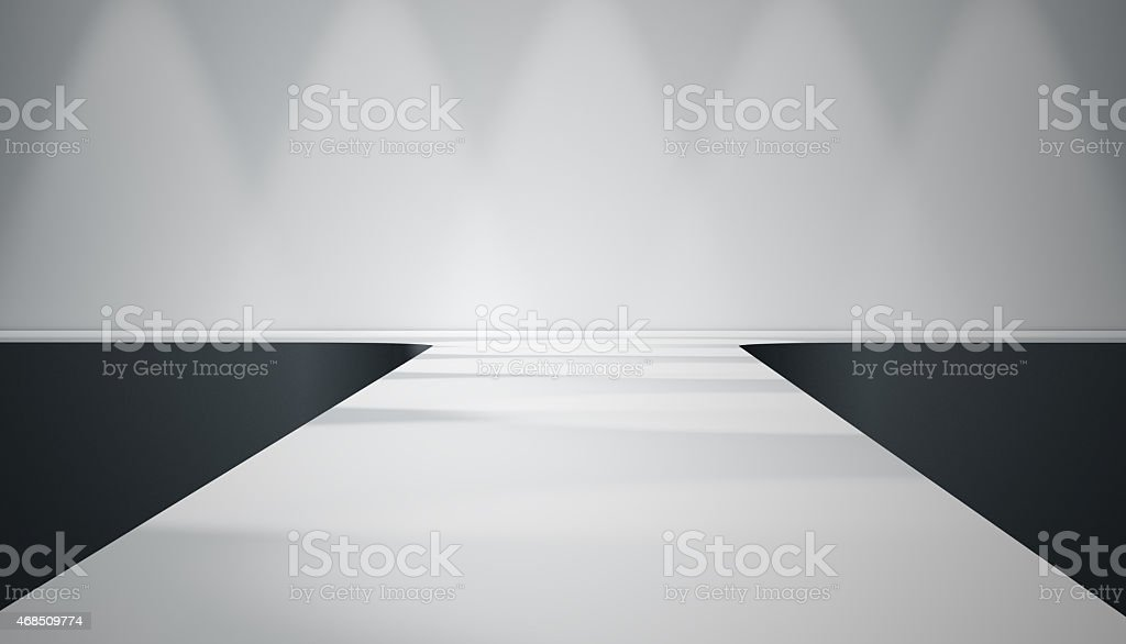 catwalk stage royalty-free stock photo