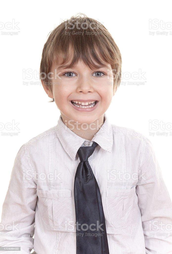 caucasian boy smiling royalty-free stock photo
