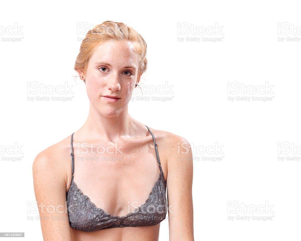 Caucasian Female Beauty Portrait stock photo
