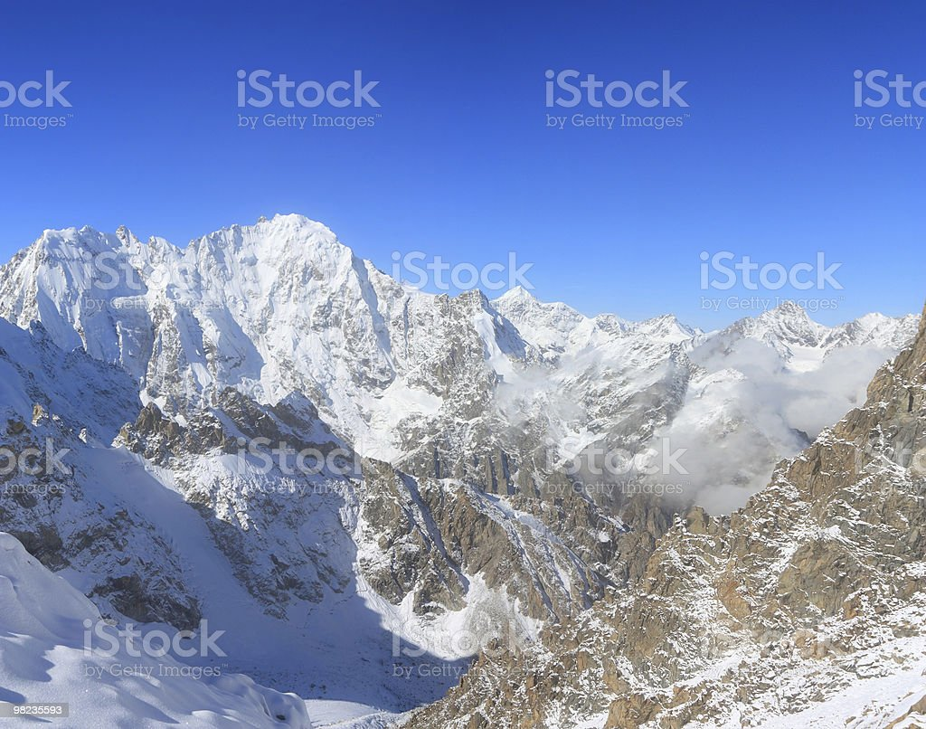 Caucasian landscape royalty-free stock photo