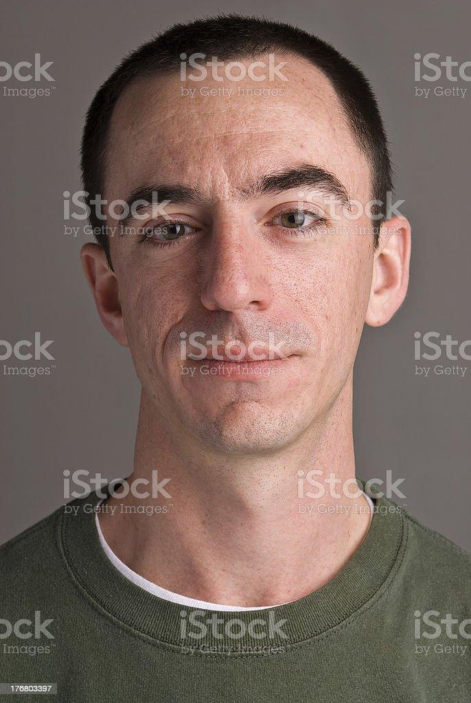 Caucasian Male Headshot stock photo