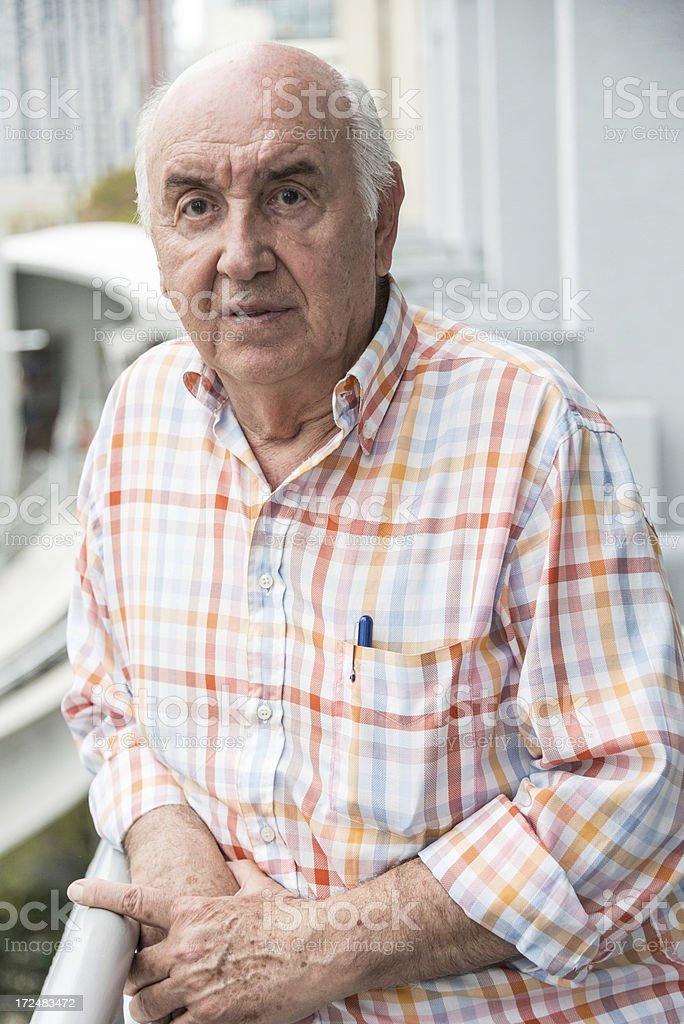 Caucasian Senior royalty-free stock photo