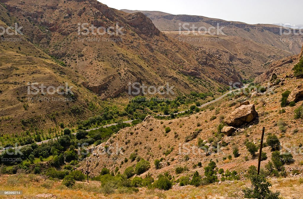 caucasian valley - Royalty-free Ancient Stock Photo