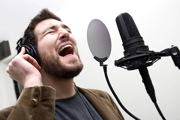 Free Images : man, music, microphone, rapper, performer