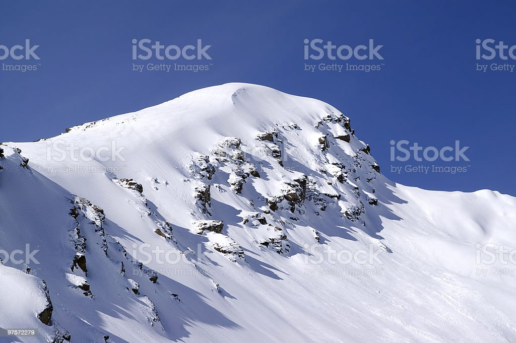 Caucasus Mountains. Cheget. royalty-free stock photo