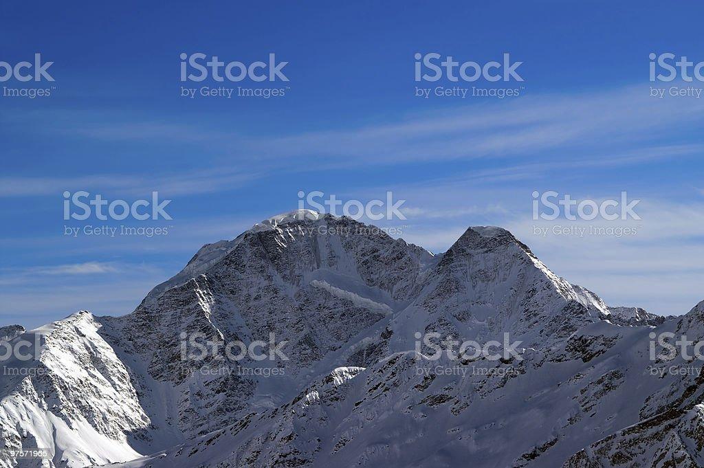 Caucase. Donguzorun. photo libre de droits