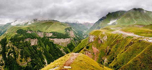 Kaukasus Gudauri, Republik Georgien – Foto
