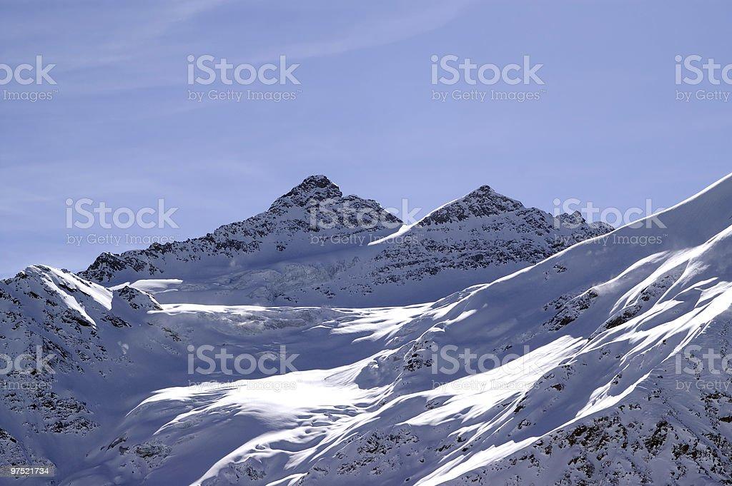Caucasus Mountains. Kogutai. royalty-free stock photo