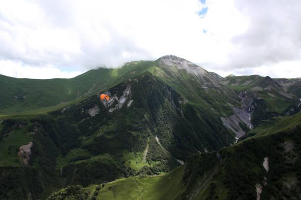 Caucasus Mountains stock photo