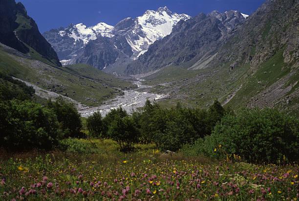 Caucasus Mountains. stock photo