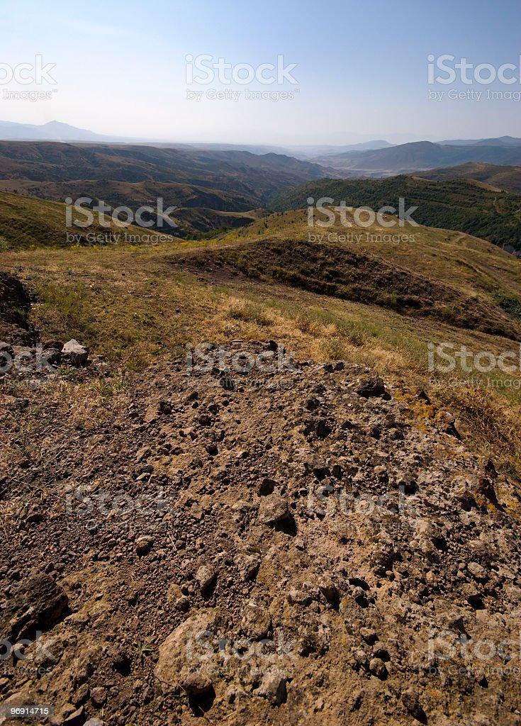 caucasus mountains royalty-free stock photo