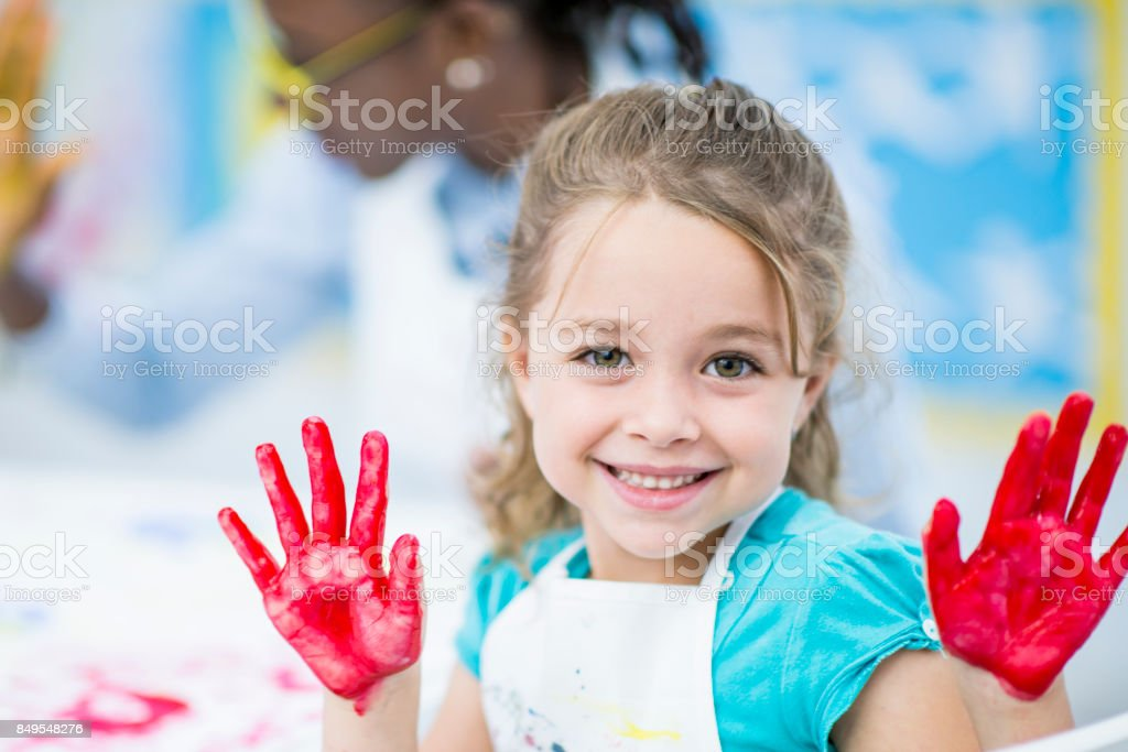Caught Red-Handed stock photo