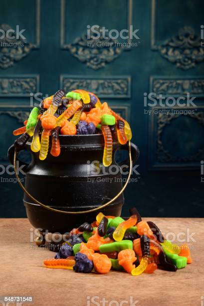 Cauldron of gummy halloween candy picture id848731548?b=1&k=6&m=848731548&s=612x612&h=0f79ckxfy2 uy5 chcts2sfyvjdz33jsa xd cszdpu=