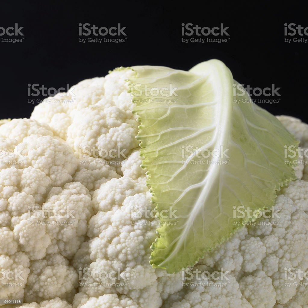 cauliflower closeup royalty-free stock photo