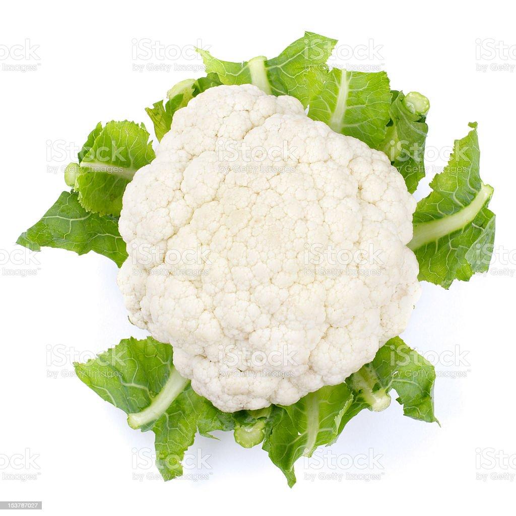 Cauliflower stock photo