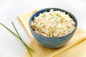 istock Cauliflower rice. Ketogenic and paleo food 1204628694